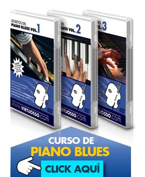 Curso de piano blues