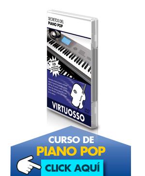 Curso de piano pop